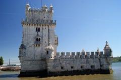 Turm Torre Des Belem Belem Stockbild
