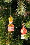 Turm u. Weihnachtsbaum Stockfotografie