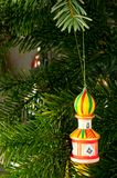 Turm u. Weihnachtsbaum Stockfoto