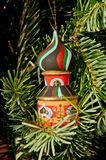 Turm u. Weihnachtsbaum Lizenzfreie Stockfotos