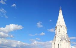 Turm und Himmel Stockbild