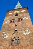 Turm von Aarhus-Haube Stockbilder