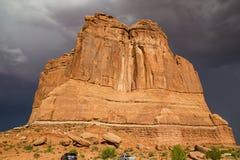 Turm von Babel Arches National Park Lizenzfreie Stockfotos