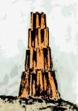 Turm von Babel (Vektor) Stockfotos