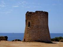 Turm von Cala-PU Mallorca Lizenzfreies Stockfoto