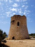 Turm von Cala-PU Mallorca Stockbilder