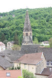 Turm von Cremieu-Kirche Lizenzfreies Stockbild