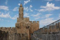 Turm von David, Jerusalem, Israel stockbilder