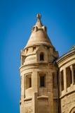 Turm von Dormitions-Abtei in Jerusalem, Israel Lizenzfreie Stockfotografie