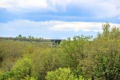 Turm von Flughafen Begerac Dordogne Perigord, Frankreich Lizenzfreie Stockfotografie