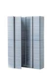 Turm von Heftklammern Stockfotografie