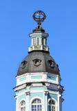 Turm von Kunstkammer im St. Petersburg Lizenzfreie Stockfotografie
