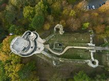 Turm von Montlhery, Essonne, Frankreich stockfoto