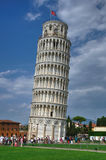 Turm von Pisa, Italien Stockfotos