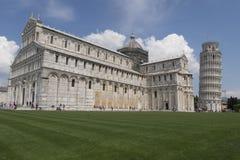 Turm von Pisa, nahe Ansicht Stockbild