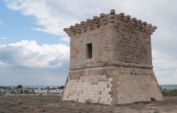 Turm von Rigenas, Larnaka Zypern Stockbild