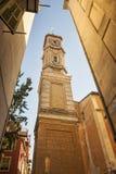 Turm von Saint Francois in Nizza Stockfotos