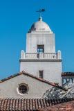 Turm von Serra Mission Museum in San Diego Lizenzfreies Stockbild
