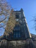 Turm von Stoke Minister Kirche lizenzfreie stockbilder