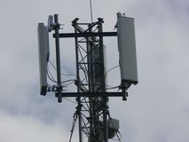 Turm von telecommunications1 Stockbild