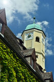 Turm in Weiden, Deutschland Stockbild