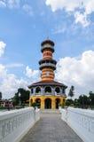 Turm Withun Thasasa (Ho), Ayuthaya, Thailand Lizenzfreie Stockfotos