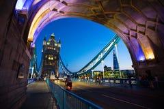 Turmbrücke stockfotografie