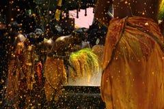 Turmeric λουτρό Στοκ φωτογραφία με δικαίωμα ελεύθερης χρήσης