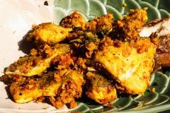 Turmeric ταϊλανδικό γεύμα τροφίμων ψαριών Στοκ φωτογραφίες με δικαίωμα ελεύθερης χρήσης