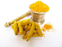 Turmeric. Is widely used as a spice and medicine in india due to its antiseptic,antibacterial nature Stock Images