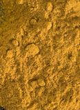 Turmeric close-up Royalty Free Stock Photography