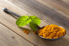 Turmeric or curcuma Royalty Free Stock Images