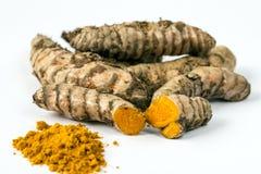 Turmeric (Curcuma longa) Stock Photo