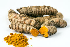Turmeric (Curcuma longa) Stock Photo