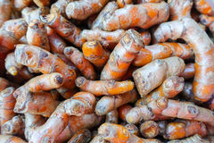 Turmeric, Curcuma at market Royalty Free Stock Photography