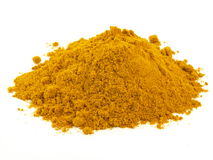 Turmeric, isolated Stock Photography