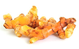 Turmeric isolated on white background Stock Photography