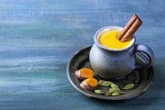 Turmeric Latte Stock Photo
