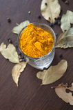 Turmeric. The Miracle Medicinal Spice Royalty Free Stock Photo