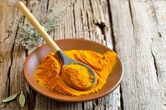 Turmeric Powder Stock Image