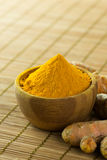 Turmeric powder Stock Images