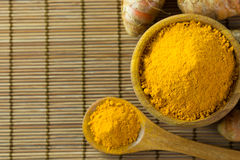 Turmeric powder Royalty Free Stock Image