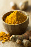Turmeric powder Stock Image