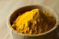 Turmeric powder Royalty Free Stock Photo
