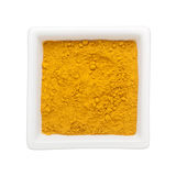 Turmeric powder Stock Photography