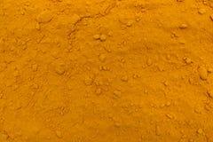 Turmeric powder texture Stock Image