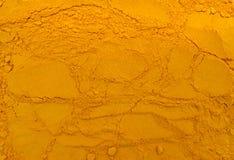 Turmeric powder texture Royalty Free Stock Photos