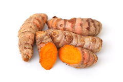 Turmeric Roots Royalty Free Stock Photography
