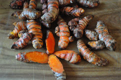 Turmeric Roots Royalty Free Stock Images