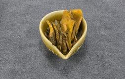 Turmeric sliced Stock Photo